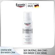 Xịt Dưỡng Ẩm Cho Da Nhạy Cảm Eucerin Hyaluron Mist Spray 50ml thumbnail