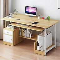 Bàn làm việc - Bàn để máy tính cây có ngăn chứa đồ - Giao màu ngẫu nhiên thumbnail