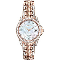 Citizen Women s Eco-Drive Watch with Crystal Accents, EW1228-53D thumbnail