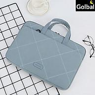 Túi Xách Nam Nữ Công Sở Đựng Laptop 15.6 Inch Chống Sốc - Tặng Kèm Gấu Con Dễ Thương - Hàng Chính Hãng thumbnail