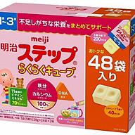 Sữa Meiji Số 1-3 dạng thanh dành cho trẻ từ 1-3 tuổi (48 thanh) thumbnail