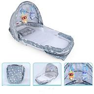 Giường Nôi xách tay đa năng cho bé từ 0-1 tuổi (xám) thumbnail