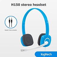 Tai nghe có dây H150 của Logitech Gaming Stereo Tai nghe 3,5 mm kép có MIC cho Máy tính để bàn thumbnail