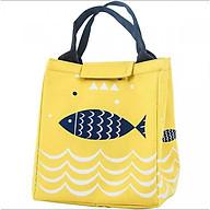 Túi đựng cơm giữ nhiệt tốt hình cá thumbnail