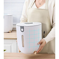 Thùng đựng gạo thông minh tinh tế - Thùng đựng gạo cao cấp chống nước, chống ẩm mốc, chống mối mọt-hàng chính hãng thumbnail