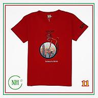 Áo thun bé trai NHIỀU MÀU, BIG SIZE từ 25kg đến hơn 60kg, áo phông ngắn tay, in HÌNH XE ĐẠP - NH SHOP thumbnail