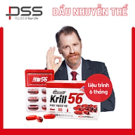Dầu nhuyễn thể KRILL 56 cao cấp - Red Omega 3 công nghệ mới - liệu trình 6 tháng 6 hộp thumbnail
