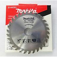 Lưỡi cắt gỗ 60 răng Makita P-67963 thumbnail