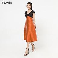 Đầm dạ hội vặn ngực LAMER S63L20Q028 thumbnail