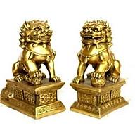 Cặp Kỳ Lân Vàng Đồng Phong Thủy thumbnail