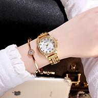Đồng hồ nữ cao cấp,tặng lắc tay siêu đẹp thumbnail