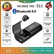 Tai Nghe Bluetooth 5.0 TWS S11 - Chống Nước IPX5 - HÀNG CHÍNH HÃNG SINO thumbnail