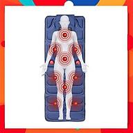 Đệm massage toàn thân hồng ngoại lưu thông khí huyết giảm đau nhức mệt mỏi xả stress ( BH 1 Năm ) - Nệm massage 9 huyệt thumbnail