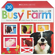 Touch, Slide, And Lift Busy Farm (Scholastic Early Learners) thumbnail