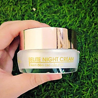 Kem Đêm Elite Night Cream - 30 Gram - Hàng Chính Hãng - Dưỡng Trắng Căng Bóng - Chống Lão Hóa Cải Thiện Sức Sống - Tạo Nên Làn Da Khỏe Mạnh Săn Chắc. thumbnail