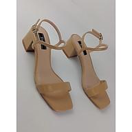 Giày Sandal quai mảnh gót 5cm êm ái Enako TP13518 thumbnail