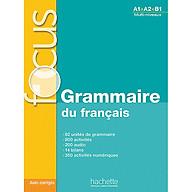FOCUS Grammaire du fran ais + CD audio + corrigés + Parcours digital thumbnail