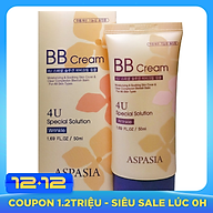 Kem Nền BB Chống Nhăn Aspasia 4U Special B.B Solution Cream Wrinkle (50ml) thumbnail