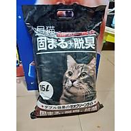 Cát vệ sinh cho mèo cát nhật 15 L - 4 mùi hương [ Giao mùi ngẫu nhiên] thumbnail
