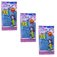 Bộ 3 găng tay cao su tự nhiên Pocket LL tiện lợi - Hàng Nội Địa Nhật thumbnail