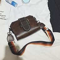 Túi đeo chéo nữ nhỏ xinh dây đeo vải màu sắc phong cách Hàn Quốc - RiBi Shop thumbnail