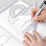 Xiaomi Thước nhôm kim loại Fizz Bộ thước đo Thước đo nghệ thuật Phụ kiện văn phòng Đồ dùng học tập thumbnail