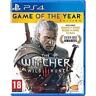 Đĩa Game PS4 The Witcher 3 Wild Hunt Game Of The Year Edition -hàng Nhập khẩu thumbnail