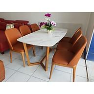 Bộ bàn ghế ăn mặt đá hiện đại thumbnail