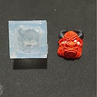 Khuôn silicon clone keycap bò bull v2 trong suốt. thumbnail