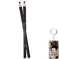Chì mày xé Suri Eyebrow Pencil Hàn Quốc tặng kèm móc khoá - No.103 Đen nâu - 1 cái thumbnail