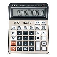 Office Desktop Calculator 12 Digit Large Display LCD Metal Surface Big Sensitive Buttons Battery Powered Electronic thumbnail