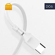 Cáp sạc nhanh 5A Micro USB Guxi D06 - Hàng chính hãng thumbnail