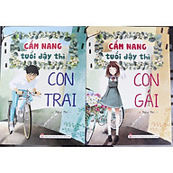 Combo 2 cuốn cẩm nang tuổi dậy thì con trai, con gái thumbnail