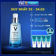 Bộ sản phẩm Serum khoáng phục hồi chuyên sâu Vichy Mineral 89 50ml và 3 serum khoáng phục hồi chuyên sâu Mineral 89 15ml thumbnail