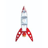 Giá Sách, Kệ Để Đồ Chơi Cho Bé Hình Tên Lửa Rocket Shelf thumbnail