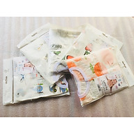 Combo 5 Bộ Quần Áo Trẻ Sơ Sinh Cao Cấp Sợi Cotton Fiber Bamboo Dành Cho Bé 6-9 Tháng Tuổi ( Màu Ngẫu Nhiên ) thumbnail