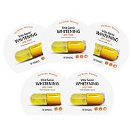 Combo 5 Mặt nạ giấy dưỡng da trắng sáng và làm đều màu da Banobagi Vita Genic Whitening Jelly Mask (Vitamin C) 30ml x5 thumbnail