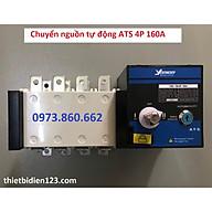 Chuyển nguồn tự động ATS 4P 160A - chuyển nguồn tự động cho nguồn điện 3 pha thumbnail