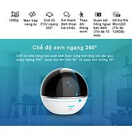 Camera Wifi - Camera IP EZVIZ C6TC 1080P - Bật thầy Theo Chuyển Động - Đàm Thoại 2 Chiều - Hàng chính hãng thumbnail