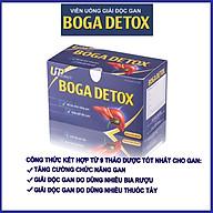 Viên uống thải độc gan BOGA DETOX - Tăng cường chức năng, hỗ trợ giải độc gan, công thức kết hợp 9 loại thảo dược qqu thumbnail