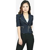 Áo vest nữ kaki tím than ADH0263TT thumbnail