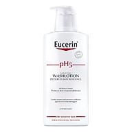 Sữa Tắm Không Mùi Cho Da Cơ Thể Nhạy Cảm Eucerin Sensitive Skin Ph5 Washlotion (Perfume-Free) (400ml) thumbnail