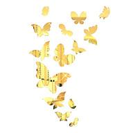 Bộ decal dán tường trang trí 3D sáng tạo cao cấp (M1) 14 bướm thumbnail