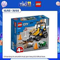 Đồ chơi LEGO City Xe Xúc Lật Sửa Chữa Đường 60284 thumbnail