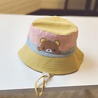 Mũ vành 2 mặt thêu hình thỏ, gấu siêu đẹp thumbnail