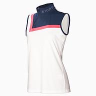Áo Golf nữ không tay trắng phối cổ M17 thumbnail