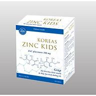 Siro Uống KOREAS ZINC KIDS- Hỗ Trợ Bổ Sung Kẽm- Tăng Cường Sức Đề Kháng ( Hộp 20 ống) thumbnail