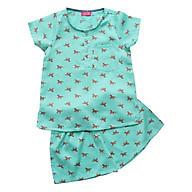 Pyjama Bé Trai In Ngựa Cuckeo Kids T61820 - Xanh Ngọc thumbnail