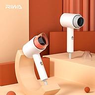 Máy sấy tóc điện tử Xiaomi Riwa RC-7105 cho ký túc xá 500W Tắt tiếng Công suất thấp Mini di động orange thumbnail