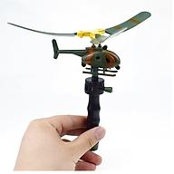 Đồ chơi trực thăng bay dạng chong chóng độc đáo dành cho bé - Kích thước 10cm thumbnail